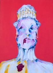 """Hungern 2"" Acrylic on canvas 50 x 70 cm. 2012 -"