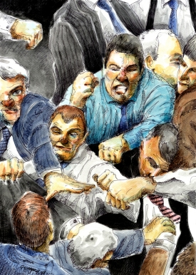 Parliament fight_3